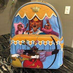 Robin Hood Disney Loungefly mini backpack NEW
